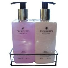 Pecksniffs Rose & Peony Hand Wash and Body Lotion Set 10.1 Fl Oz Each