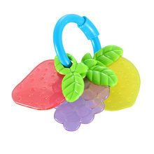 Baby Early Childhood Toys Baby Hand Bell Safety Education Gift (Fruit)