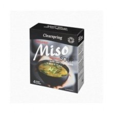 Clearspring - Instant Miso Soup 4 x 10g