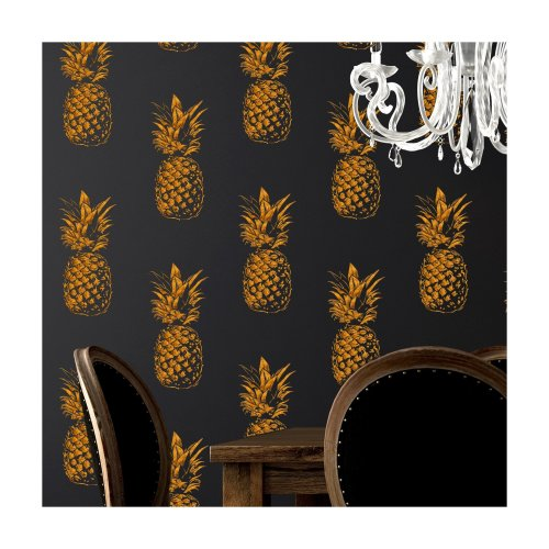 PINEAPPLE REPEAT Wall Stencil for Painting