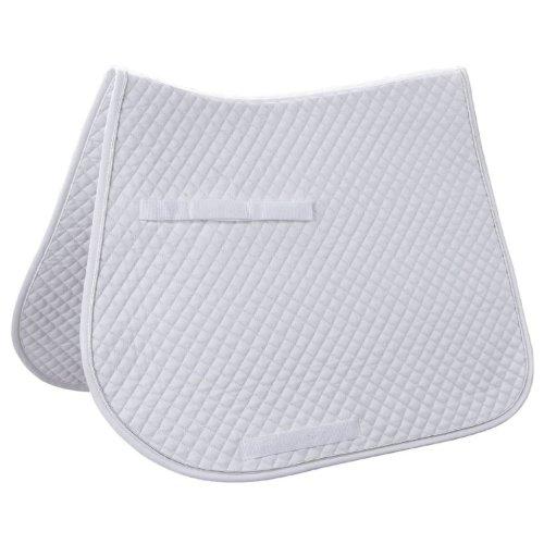 Kerbl Multipurpose Saddle Pad Classic White 323812