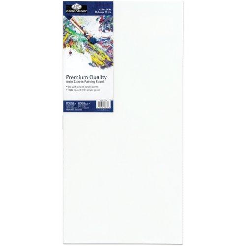 """essentials(TM) Premium Canvas Board-12""""X24"""""""