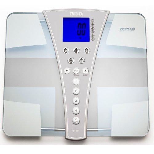 Tanita BC-587 Innerscan High Capacity Body Composition Monitor Bathroom Scale