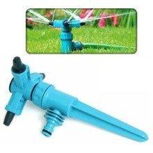 Adjustable Speed Rotating 3 Arm Garden Sprinkler - 360 Degree