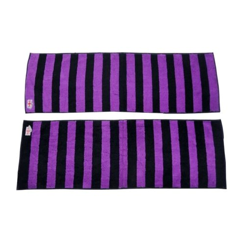 Set of 2 100% Cotton Absorbent Hip-hop Sport Towels Yoga Towels 9*39""