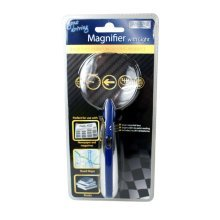 Magnifier With Bright Light - Boyz Toys Ry658 New Magnifying Glass LED -  boyz toys ry658 light new magnifying glass bright led batteries included