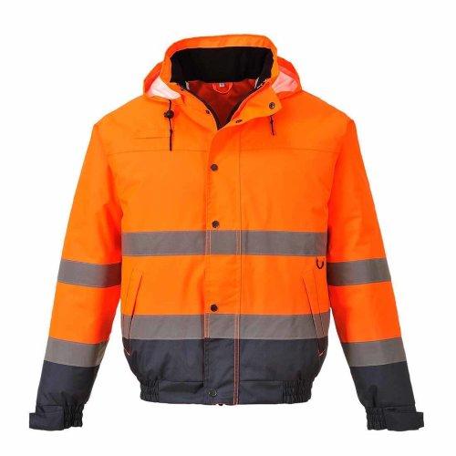 sUw - Hi-Vis Safety Workwear Two Tone Bomber Jacket