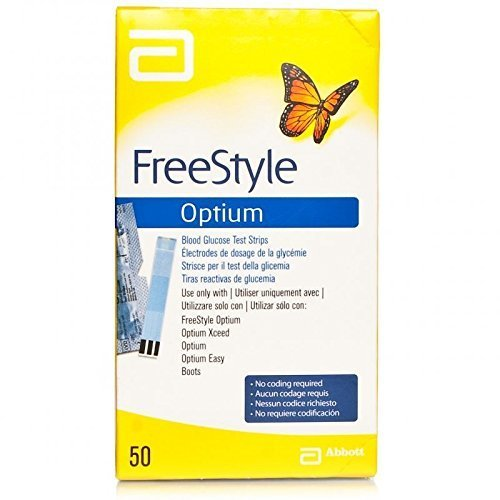 Freestyle Optium Glucose Test Strips