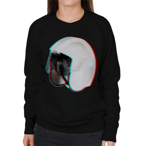 Original Stormtrooper Rebel Pilot Stunt Helmet 3D Effect Women's Sweatshirt