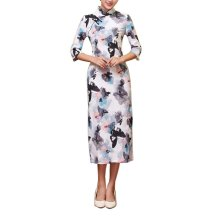 Elegant Oriental Cheongsam Qipao Chinese Style Costume Dresses, #11