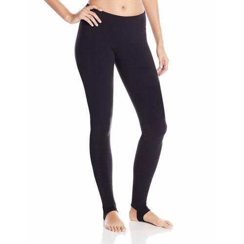 DeepTwist Womens Stirrup Running Leggings Active Plus Size Yoga Pants Training Fitness Workout Tights Black, UK-DT4006-Black-8