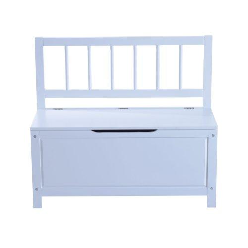 Homcom Entryway Storage Bench Cabinet Shoe Organiser Unit Stool W/ Lift Up Lid (white)
