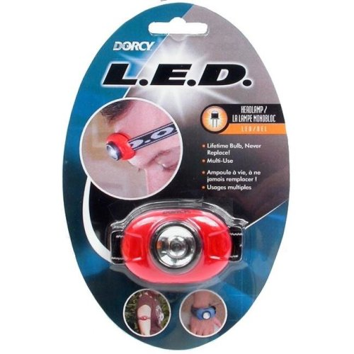 Dorcy 41-2089 Dual-Purpose Adjustable LED Headlight Flashlight