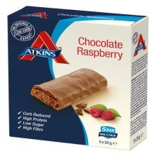 Atkins Advantage Chocolate Raspberry 5x30g Bars