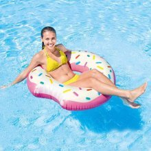 Intex 56265 Donut Tube Inflatable Mattress for the Pool