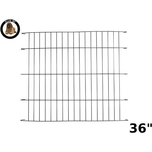 Ellie-Bo Black Divider for 36 inch Large Dog Crate Cage