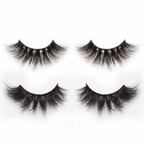b493bfa6694 3D & 4D False Eyelashes Pack of 2 Pairs,Alluring Long & Thick Handmade Fake  Lashes in Dramatic & Natural Look Style on OnBuy