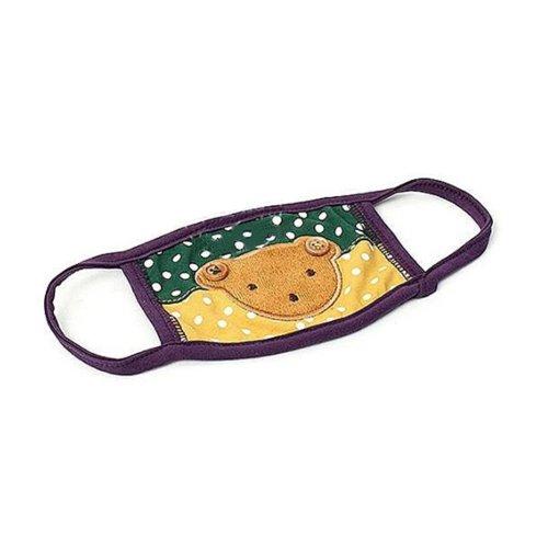 Children's Mask For Windproof, Dustproof, Breathable Masks (Green Bear)