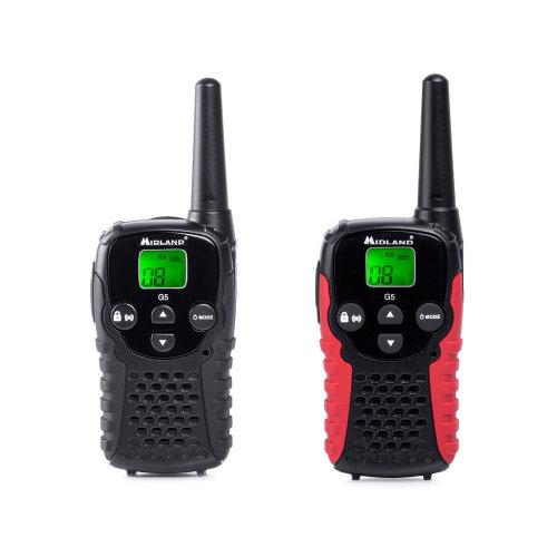 PMR Portable Radio Station Midland G5C Set with 2 pcs. code C1192