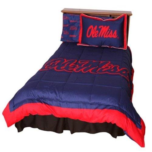 College Covers MISCMQU Ole Miss Reversible Comforter Set - Queen