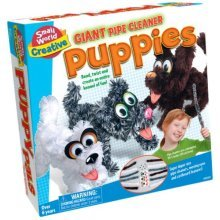 Small World Toys Creative - Puppy Pals Set (giant pipe cleaners)