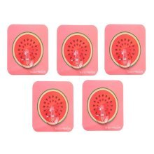 5 PCS Creative Fruit Hook Kitchen Bathroom Wall Hook, Watermelon