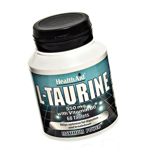 Healthaid L-taurine 550mg  Tablets 60's