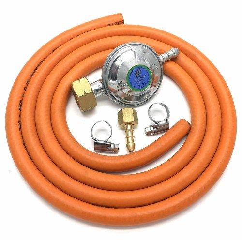 Igt 4.5Kg Butane Gas Regulator Bbq Conversion Kit 1/4 LHT Fitting