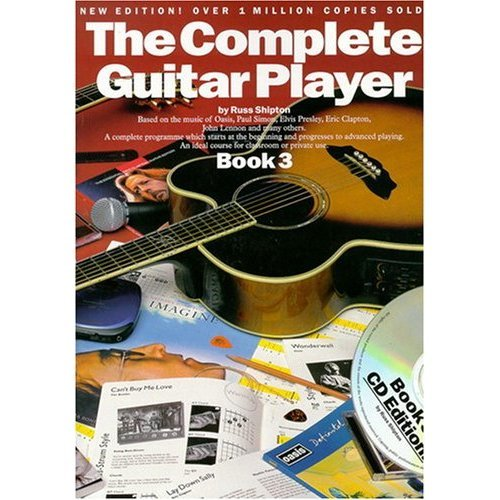 The Complete Guitar Player: Book 3 with Cd-Music Book: Vol 3