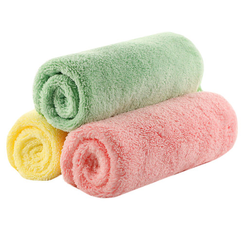 Child's Towels Kids Soft Cotton Towels 3 Packs for Baby Kids #4