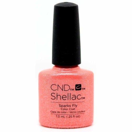 CND Shellac Nail Polish - Sparks Fly
