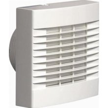 Airvent 459318A 100MM 4' Bathroom Humidity Extractor Fan With Humidistat, Pullcord And Automatic Shutters