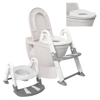 Dreambaby 3 In 1 Toilet Trainer - Grey