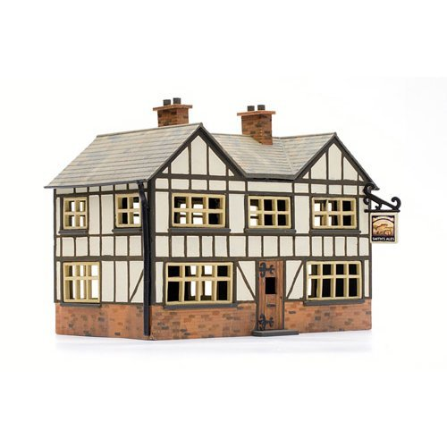 OO Building plastic kit (house) - Country Inn - Dapol Kitmaster C025