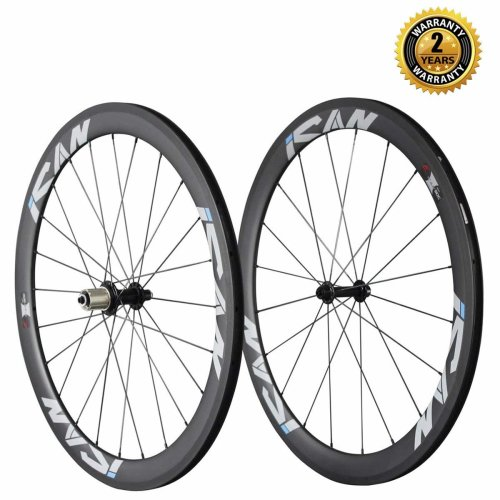 ICAN 50mm Carbon Clincher Wheelset