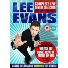 Lee Evans Complete Live Comedy Collection 1994-2011 8 Dvd Box Set