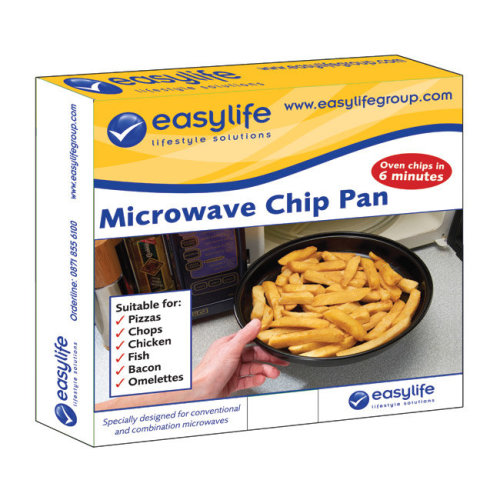 Microwave Chip Pan