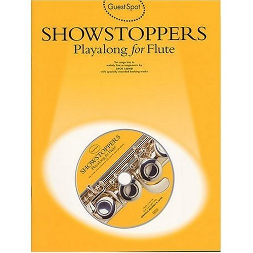 GUEST SPOT SHOWSTOPPERS PLAYALONG FOR FLUTE FLT BOOK/CD