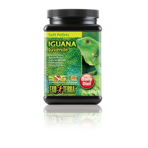 Exo Terra Soft Pellets Juvenile Iguana Food 240g