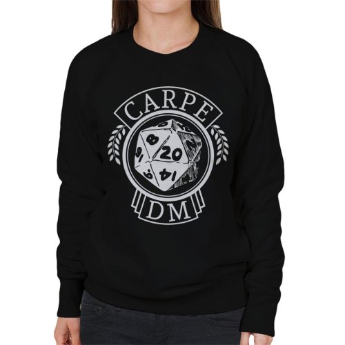 Dungeons And Dragons Carpe DM Women's Sweatshirt