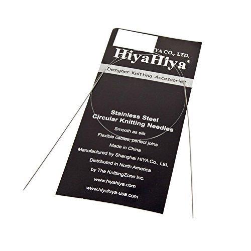 HiyaHiya 32-inch/ 80 cm x 1.5 mm Stainless Steel Fixed Circular Needle
