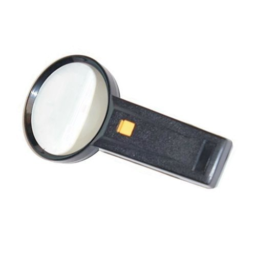 Illuminated Magnifying Glass With Real Glass Lens 65mm or 90mm Diameter - Vision Aid