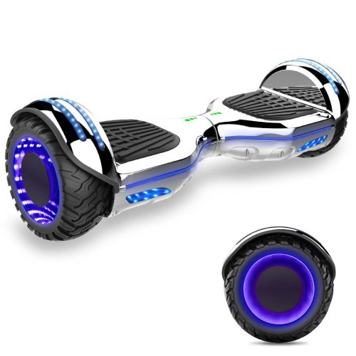 Right Choice UL Certified Self Balancing Scooter Build with Bluetooth Speaker and LED lighting Wheels
