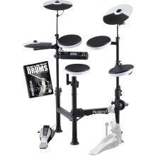 Roland TD-4KP Portable Electronic Drum Kit With Free Backbone Drum Tutorial Book Worth £15.99