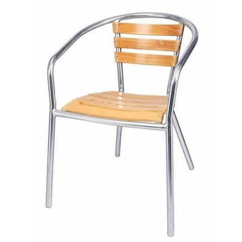 Charlottle Aluminium Stacking Garden Chairs Set of 4