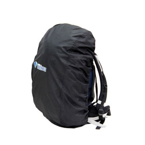 Tear Resistant Black Camping/Hiking Water-proof Backpack Rain Cover, 15-35L