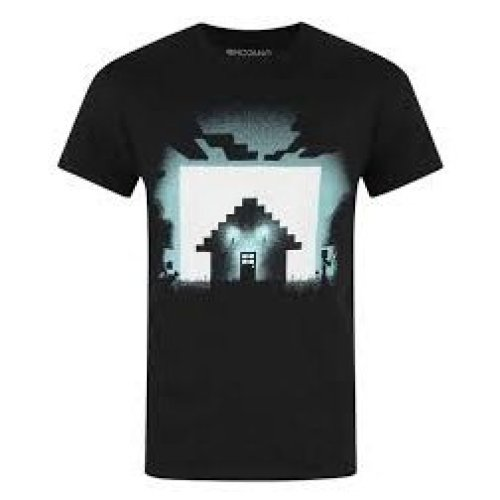 SURVIVAL Adult Minecraft T-Shirt Size LARGE