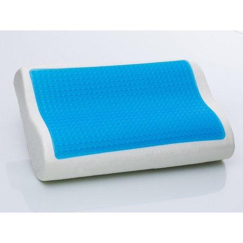 Contour Molded Memory Foam Pillow with Gel 50x30 cm - Neck Pillow - MOCO