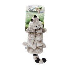 Gor Pets Wild Squeaky Raccoon Dog Toy