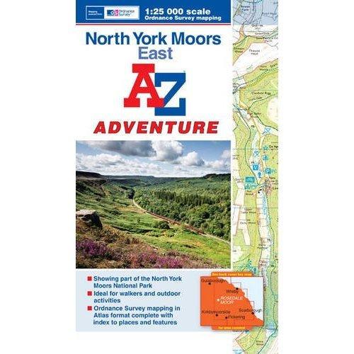 North York Moors East Adventure Atlas (A-Z Adventure Atlas)
